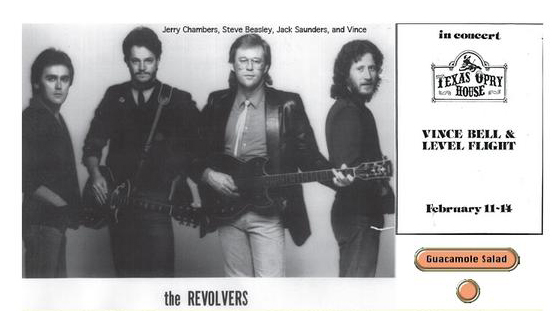 The Revolvers: Steven Beasley, Jack Saunders, Vince Bell, Jerry Chambers